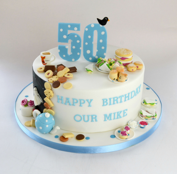 50th Miniatures Birthday Cake
