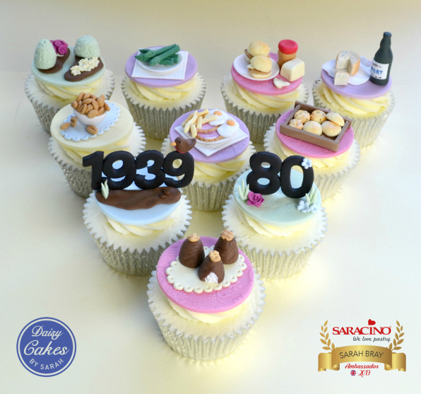 Miniature Food Cupcakes